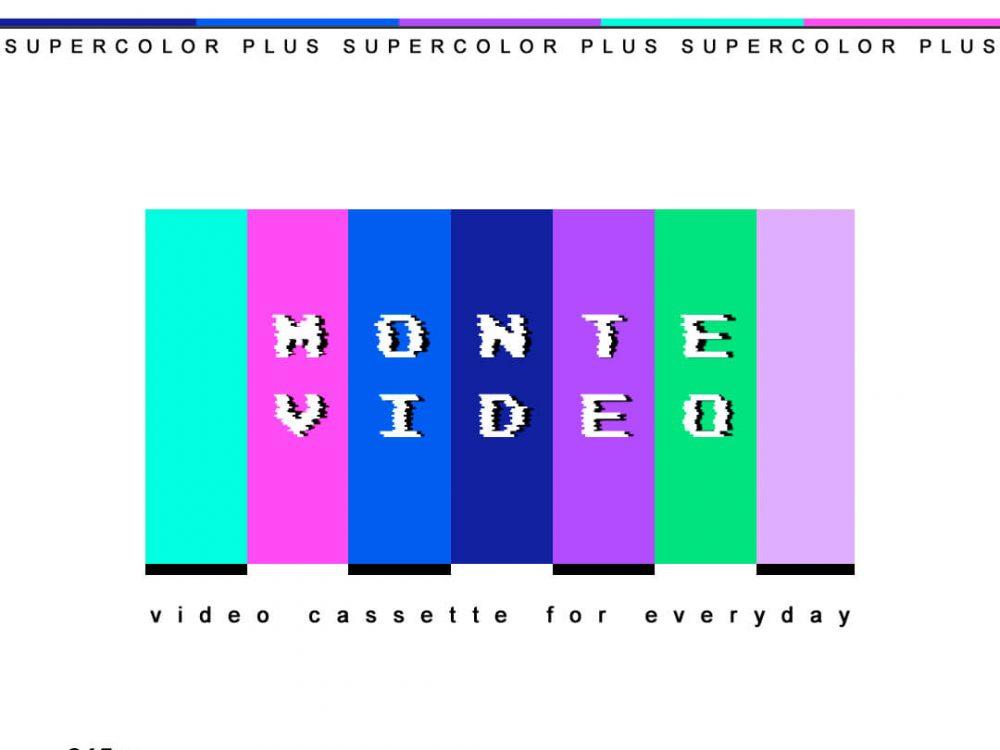 Monte Video corp. Tour T-shirt design