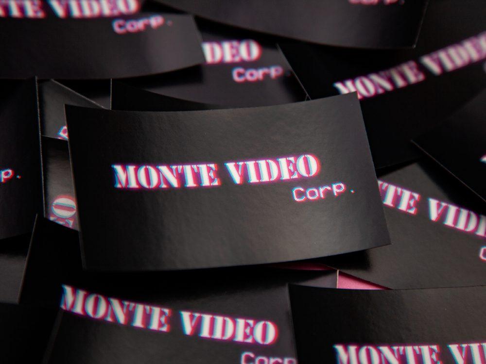 Monte Video sticker